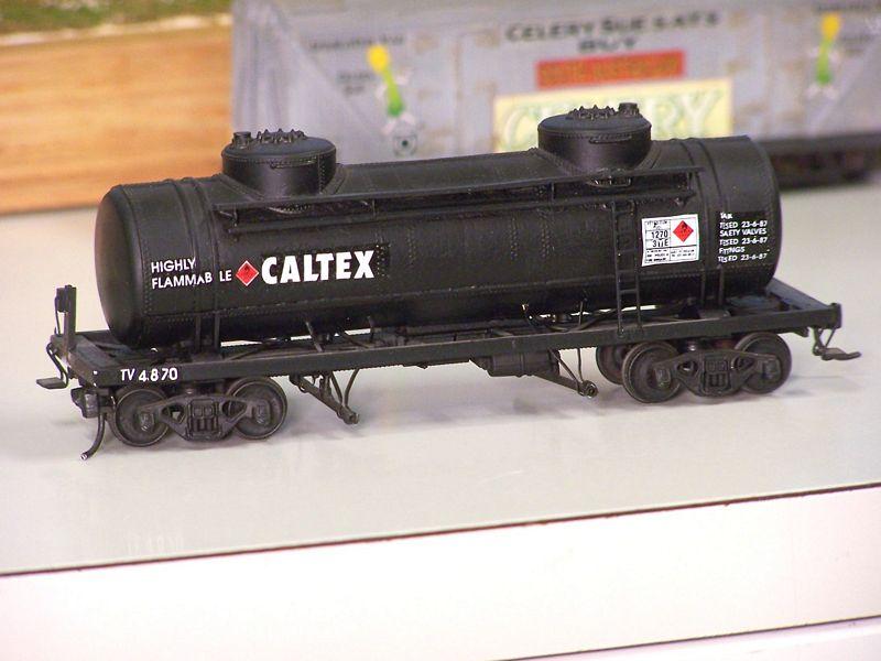 Caltex TV tank