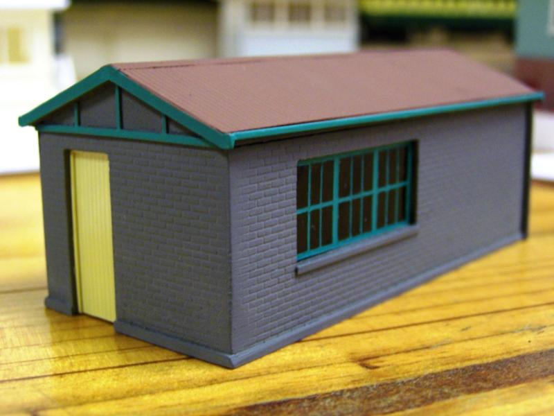 Adelaide Station Relay Room, HO scale scratchbuilt by David