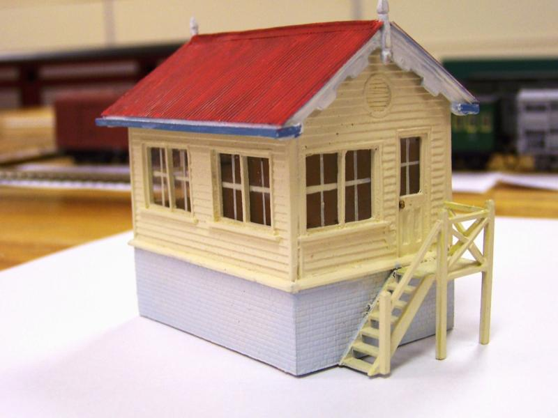 Belair Cabin, HO scale SARMA kit by Hugh Williams