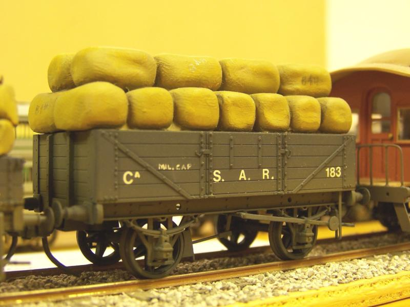 Early SAR open Wagon, 4mm, Scrathbuilt by Frank Kelly