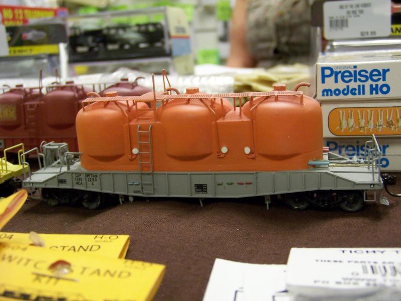 HCA cement wagon in orange initial build scheme by End of Li