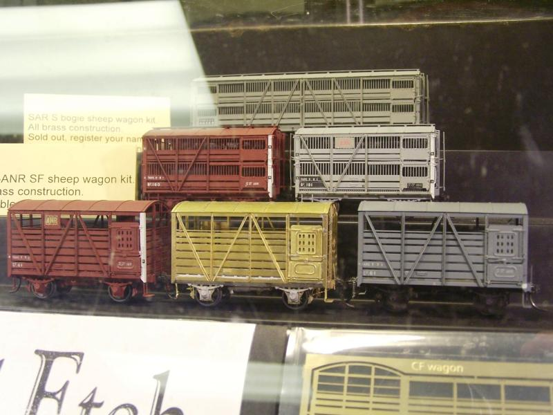 Latest wares from Model Etch, Sheep an Cattle Vans in differ