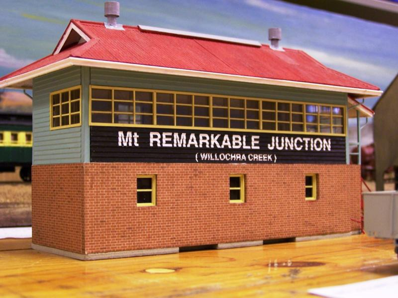 Mt Remarkable Jcn. cabin based on the Port Pirie Jcn cabin b