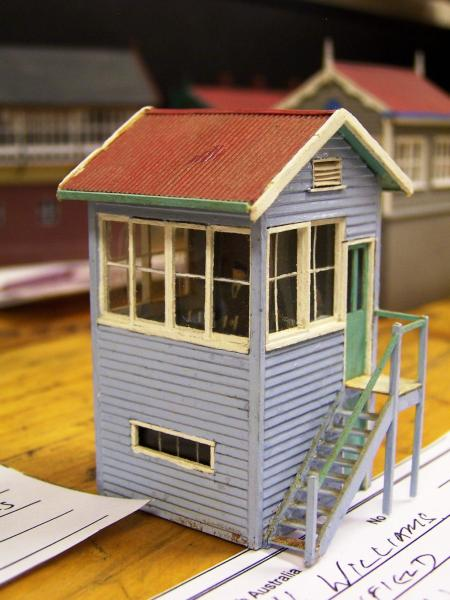 Penfield Cabin HO scale, scratchbuilt by Hugh Williams in 19