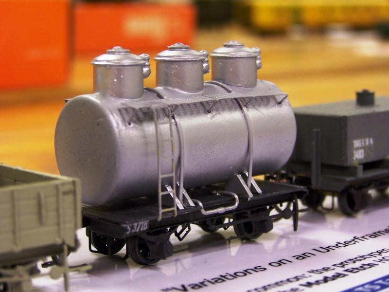 Petrolium product tank wagon, Eyre Pen. Div. TS 3716 scratch