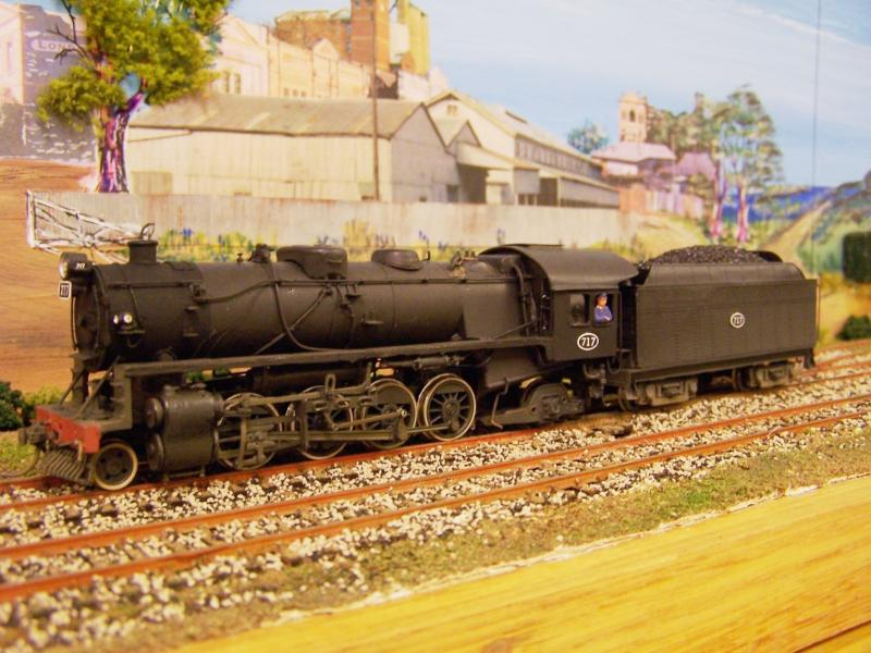 SAR 710 class No.717 HO scale BGM kit by Philip Groves