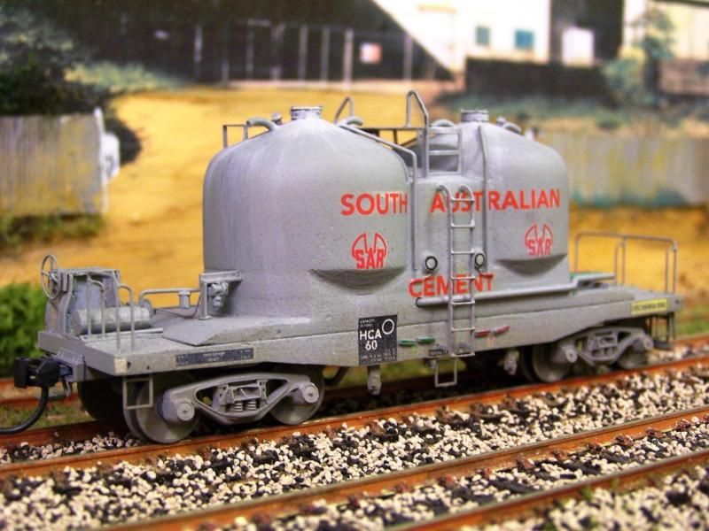 SAR HCA 60 cement wagon  kit from End of Line Hobbies by Gav