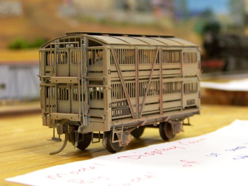 SAR Sf Sheep Van HO scale Model Etch kit by Alan Thomas