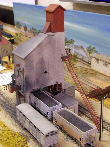 SAR coal stage from old kit by Bob Burton