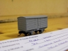 DA van, N scale  scrathbuilt body on PECO chassis by Mark Wi