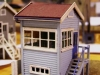 Penfield Cabin, HO scale scratchbuilt by Vic Kollosche in 19