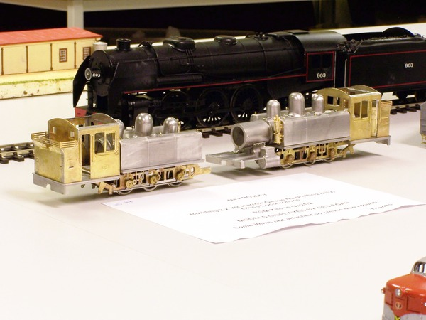 NA steam locos x2 under construction Des Egan