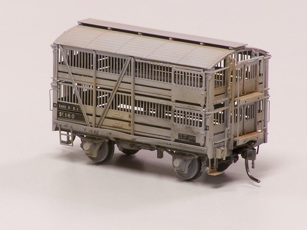 Sf sheep van HO Model Etch  kit Denis Kahl