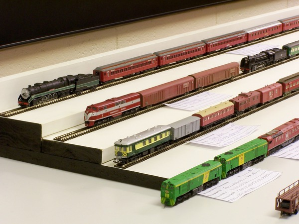 Various N scale kitbashed & kits