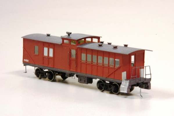 4400 Brakevan  scratchbuilt in card owner John Looker