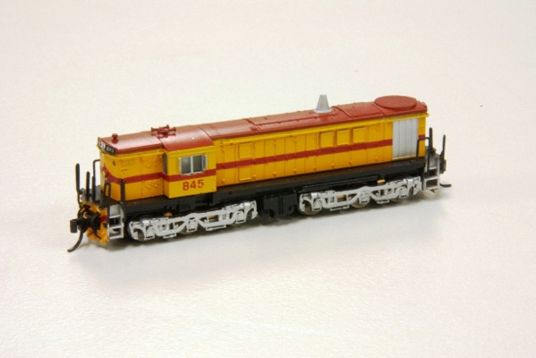 830 Class painted to SAR Gopher Models by Barrie Mackinnon