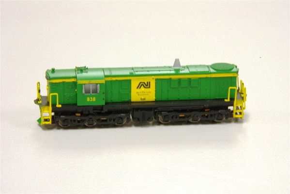 830 Class repainted to AN Gopher Models by Barrie Mackinnon