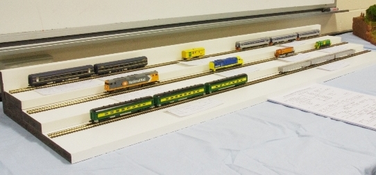 N Scale display