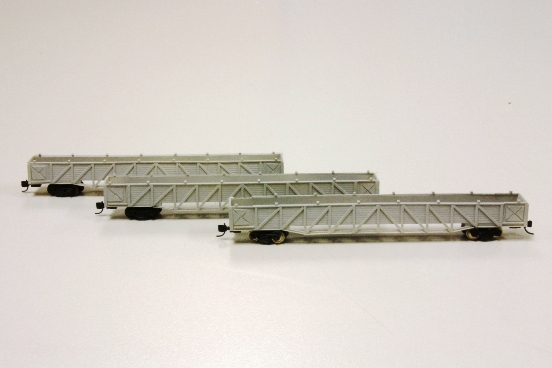 N scale OA Car Body Carriers scratchbuilt by Rodney Poole