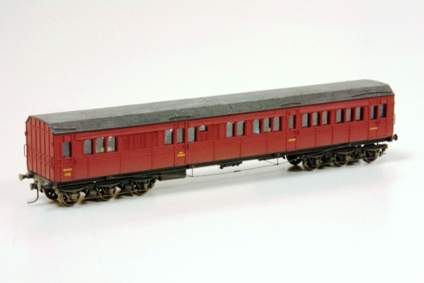SAR long Dogbox Car ex State car 148 Scratchbuilt G Thrum