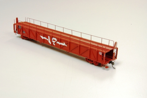 VR Car Carrier Strath Hobbies kit by Paul Collins