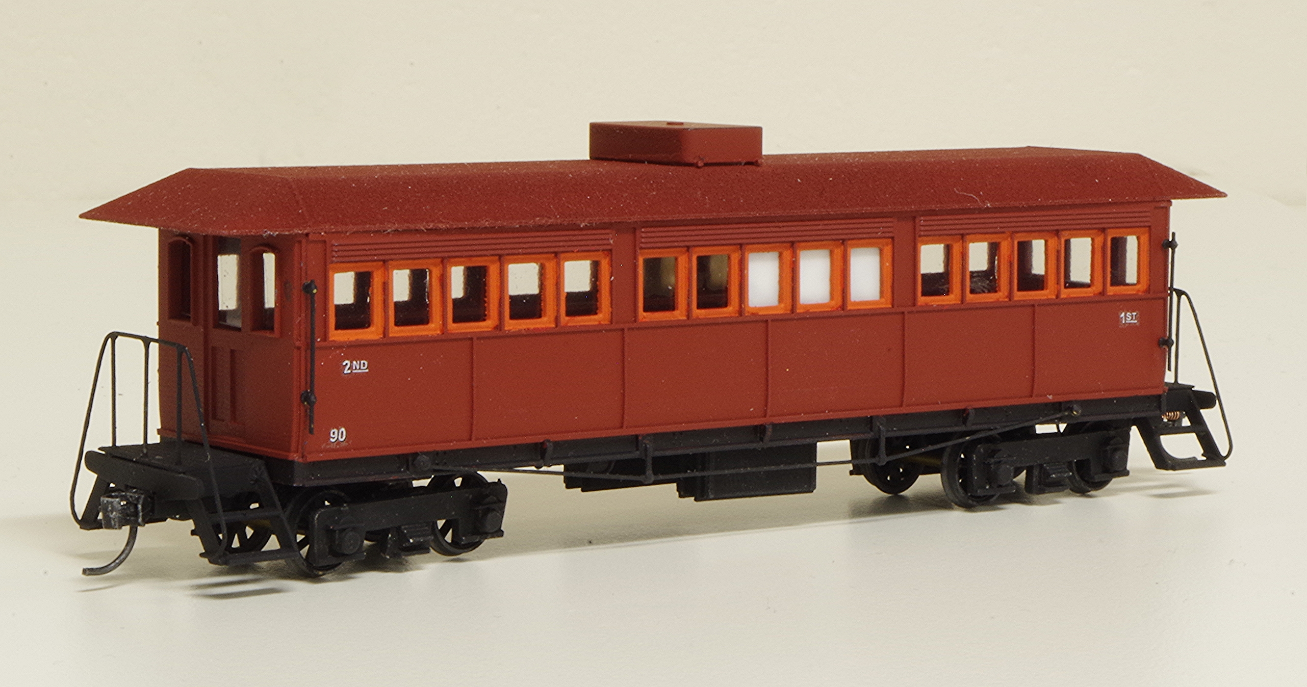 Sn3.5 SAR narrow gauge Short Tom Car 90