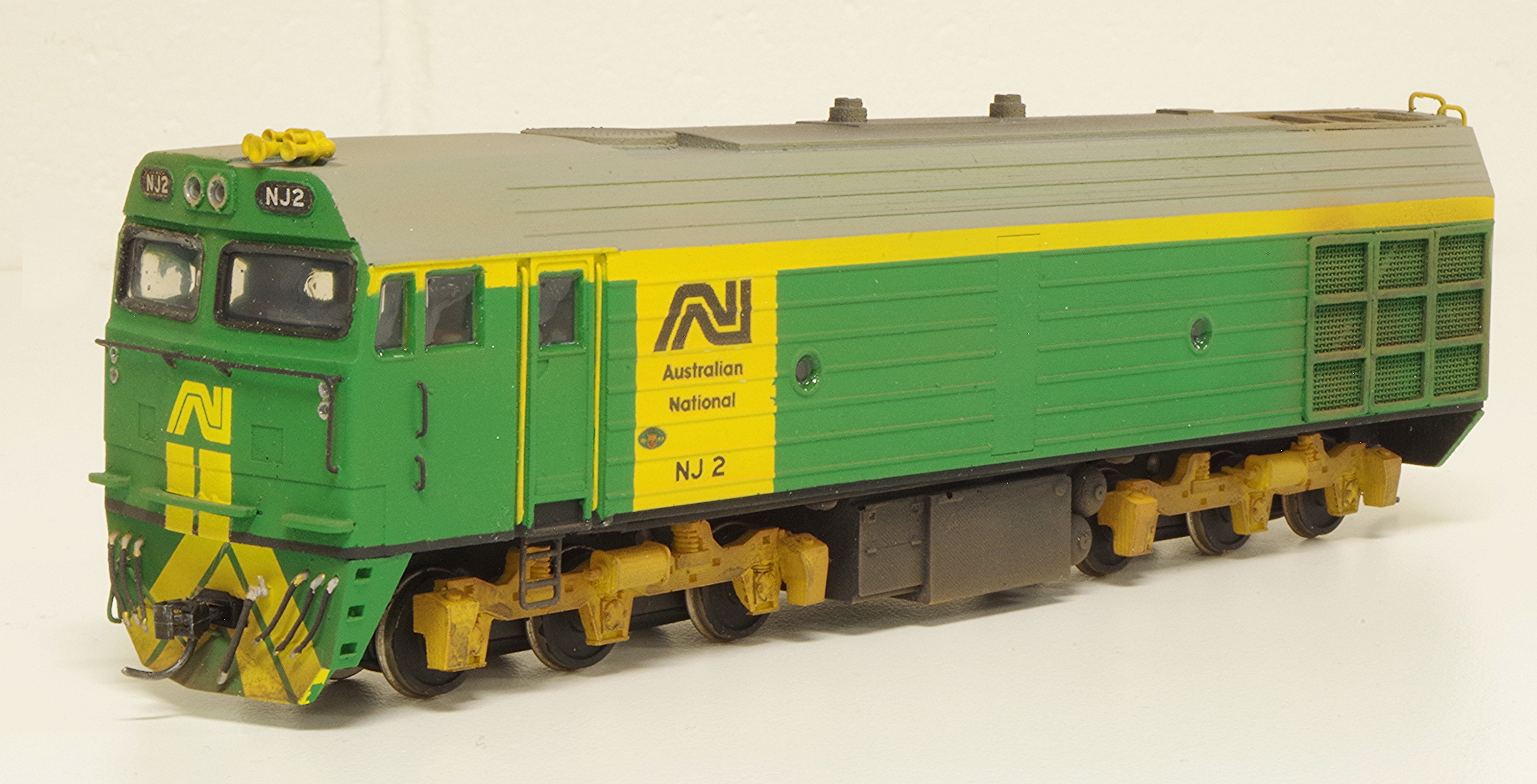 Sn3.5 Australian National NJ Class No.2. Strath Hobbies kit