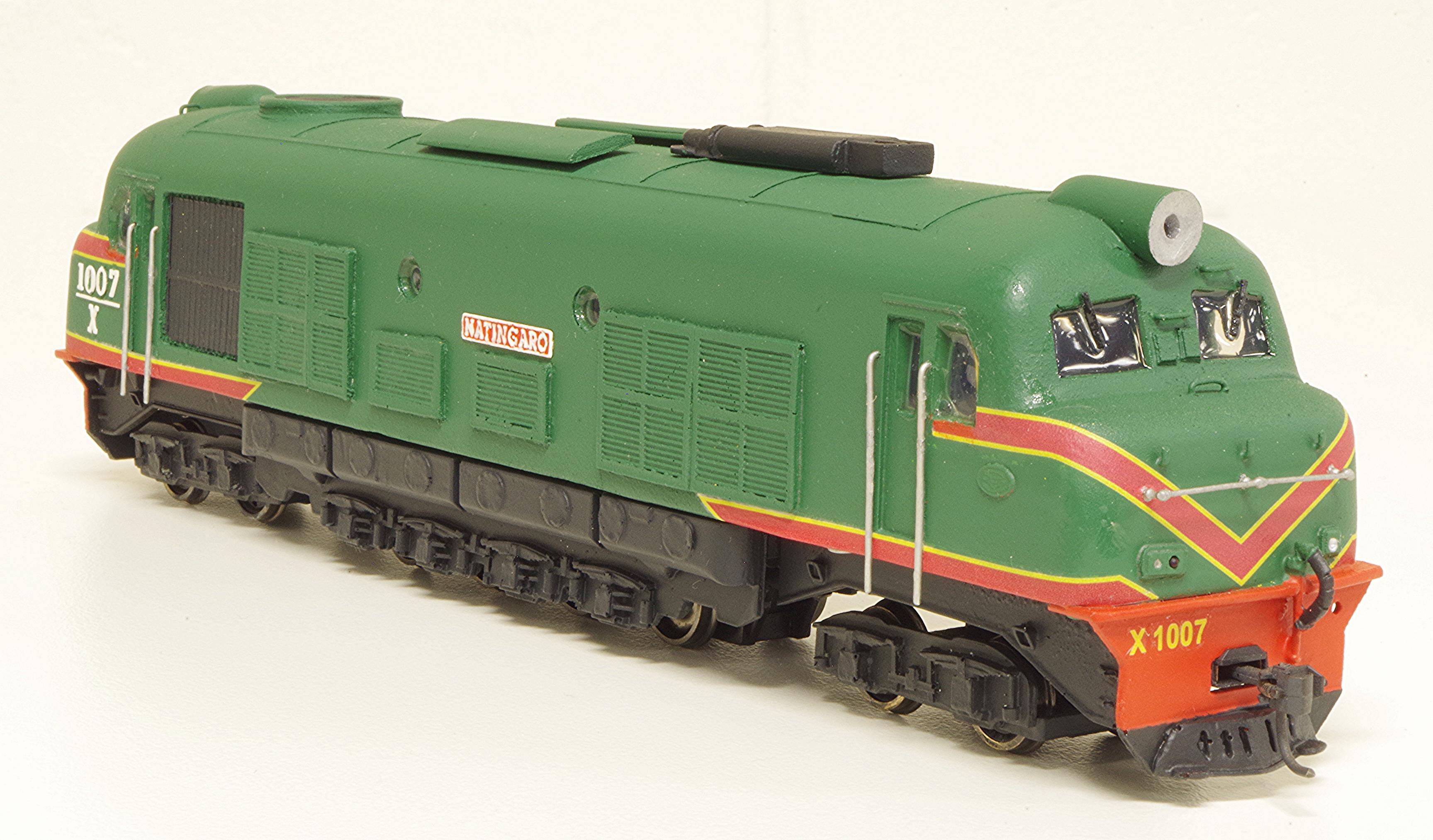 """Sn scale WAGR X Class X1007 """"NATINGARO"""""""