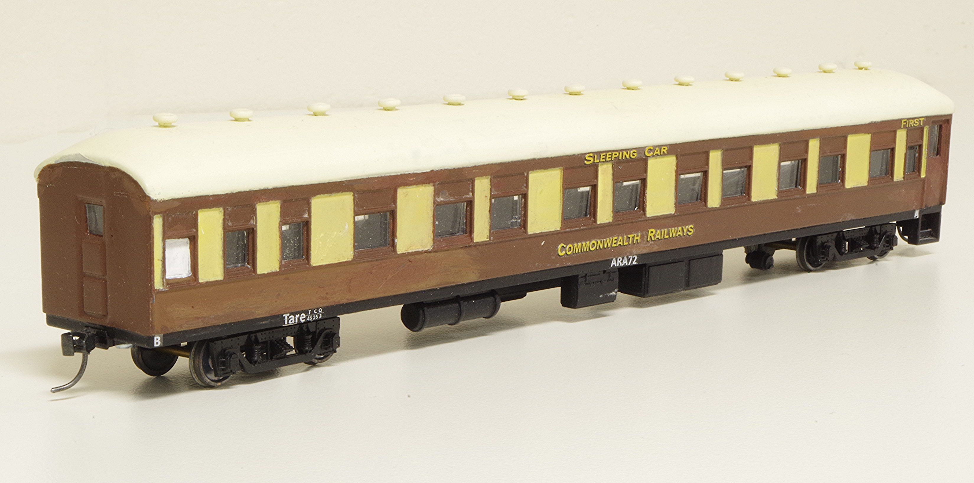 Commonwealth Railways First Class Sleeping Car ARA72